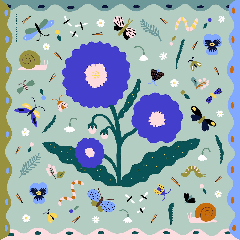 作業中Bugs_Flowers
